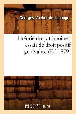 Theorie du Patrimoine