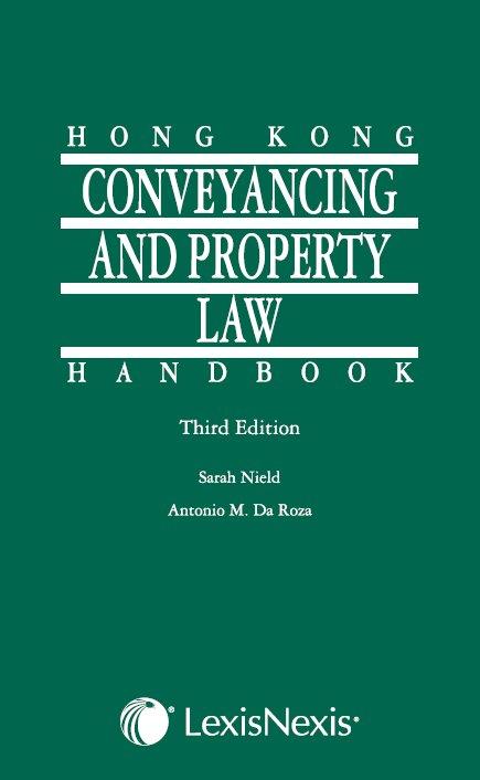 Hong Kong conveyancing and property law handbook