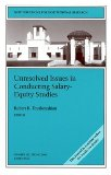 Unresolved Issues in Salary-Equity Studies