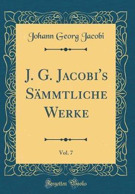 J. G. Jacobi's Sämm...