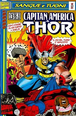 Capitan America & Thor n. 13
