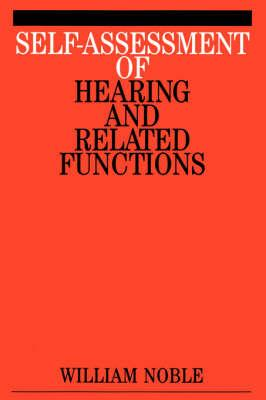 Self-Assessment of Hearing and Related Functions