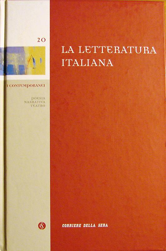 La letteratura italiana - Volume 20
