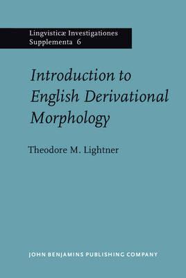 Introduction to English Derivational Morphology