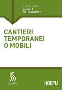 Cantieri temporanei o mobili
