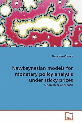 Newkeynesian models for monetary policy analysis under sticky prices