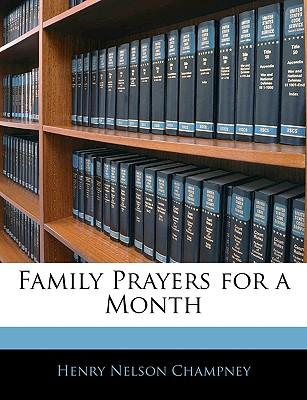 Family Prayers for a Month