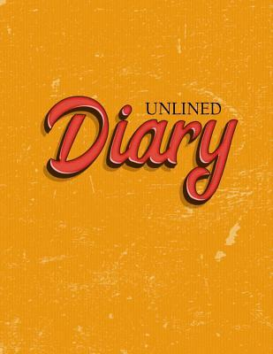 Unlined Diary
