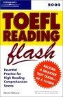 Peterson's Toefl Reading Flash 2002