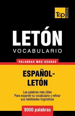 Vocabulario español-letón - 9000 palabras más usadas