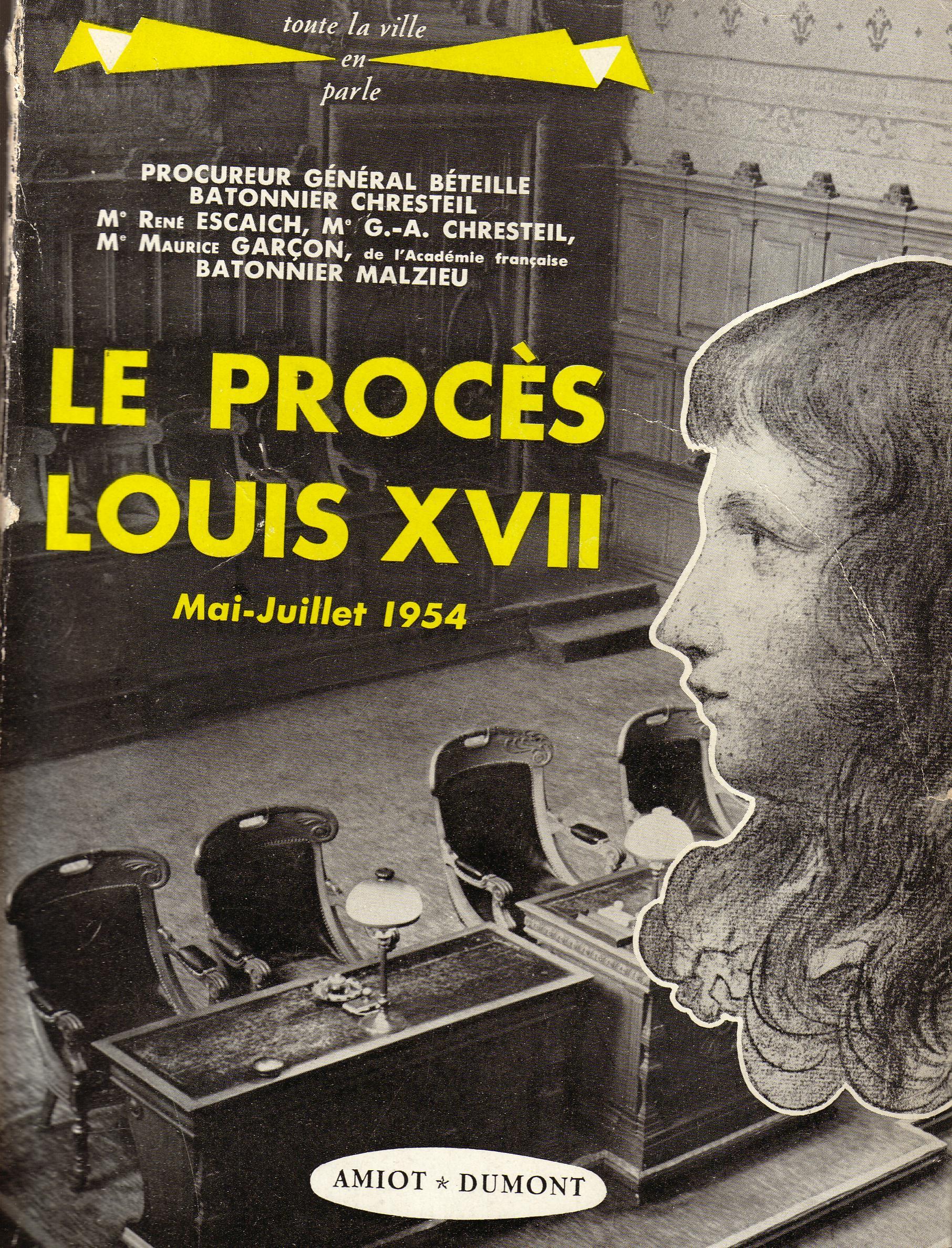 Le procès Louis XVII