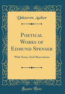 Poetical Works of Edmund Spenser