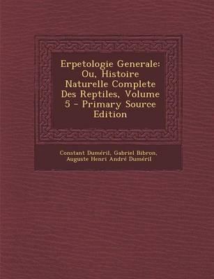 Erpetologie Generale