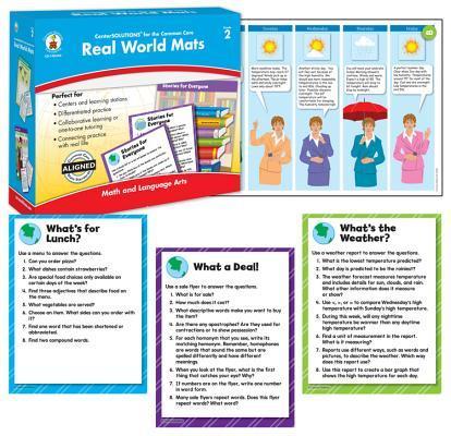 Real World Mats, Grade 2