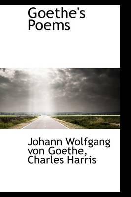 Goethe's Poems