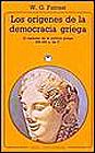 Los orígenes de la democracia griega