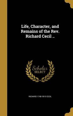 LIFE CHARACTER & REMAINS OF TH