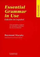 English grammar in u...