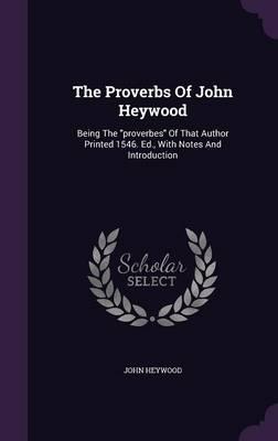 The Proverbs of John...