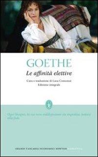 "Johann Wolfgang Goethe: ""Le affinità elettive"""