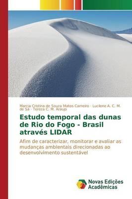 Estudo temporal das dunas de Rio do Fogo - Brasil através LIDAR