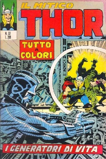 Il mitico Thor n. 33