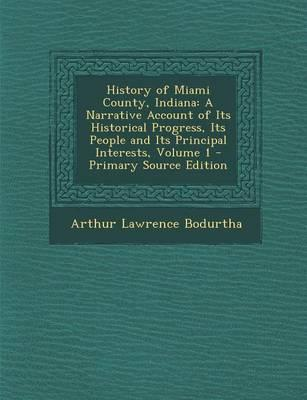 History of Miami County, Indiana
