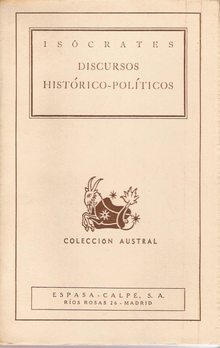 Discursos histórico-políticos
