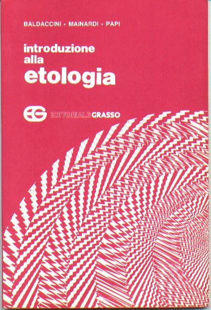 Introduzione alla Etologia