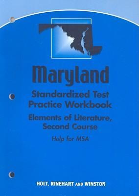 Elements of Literature, Grade 8 Standard Test Preparation Workbook