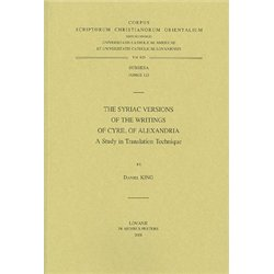 The Syriac versions of the writings of Cyril of Alexandria