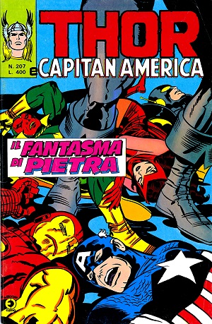 Thor e Capitan America (Il Mitico Thor) n. 207