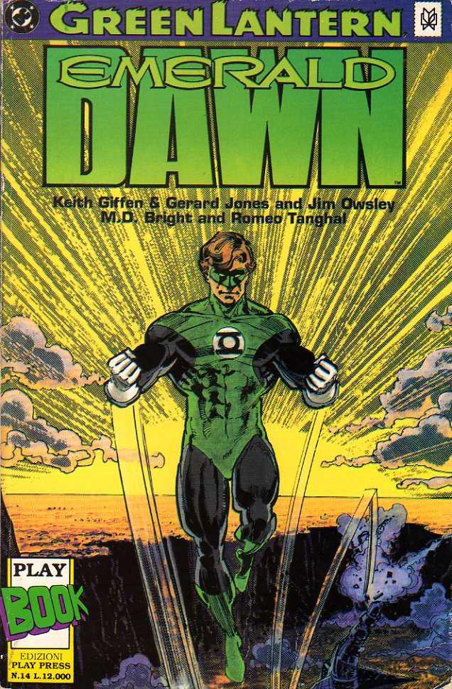 Green Lantern: Emera...