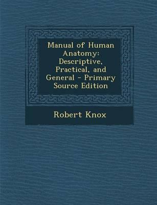 Manual of Human Anat...
