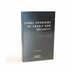 Legal Problems of Credit and Security