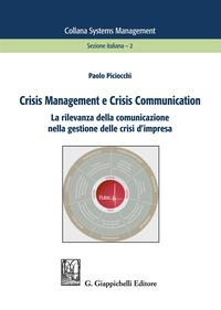Crisis management e crisis communication. La rilevanza della comunicazione nella gestione delle crisi d'impresa