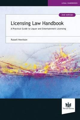 Licensing Law Handbook