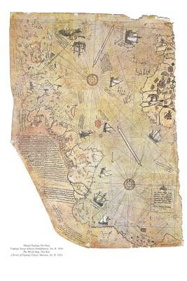 Piri Reis Map Fragment Central and South America Circa 1467-1554 Journal