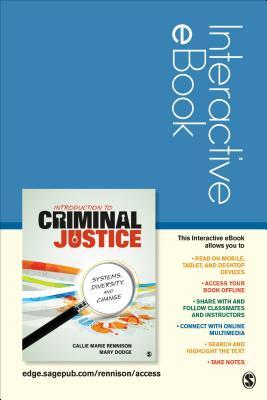 Introduction to Criminal Justice Interactive eBook Access Code
