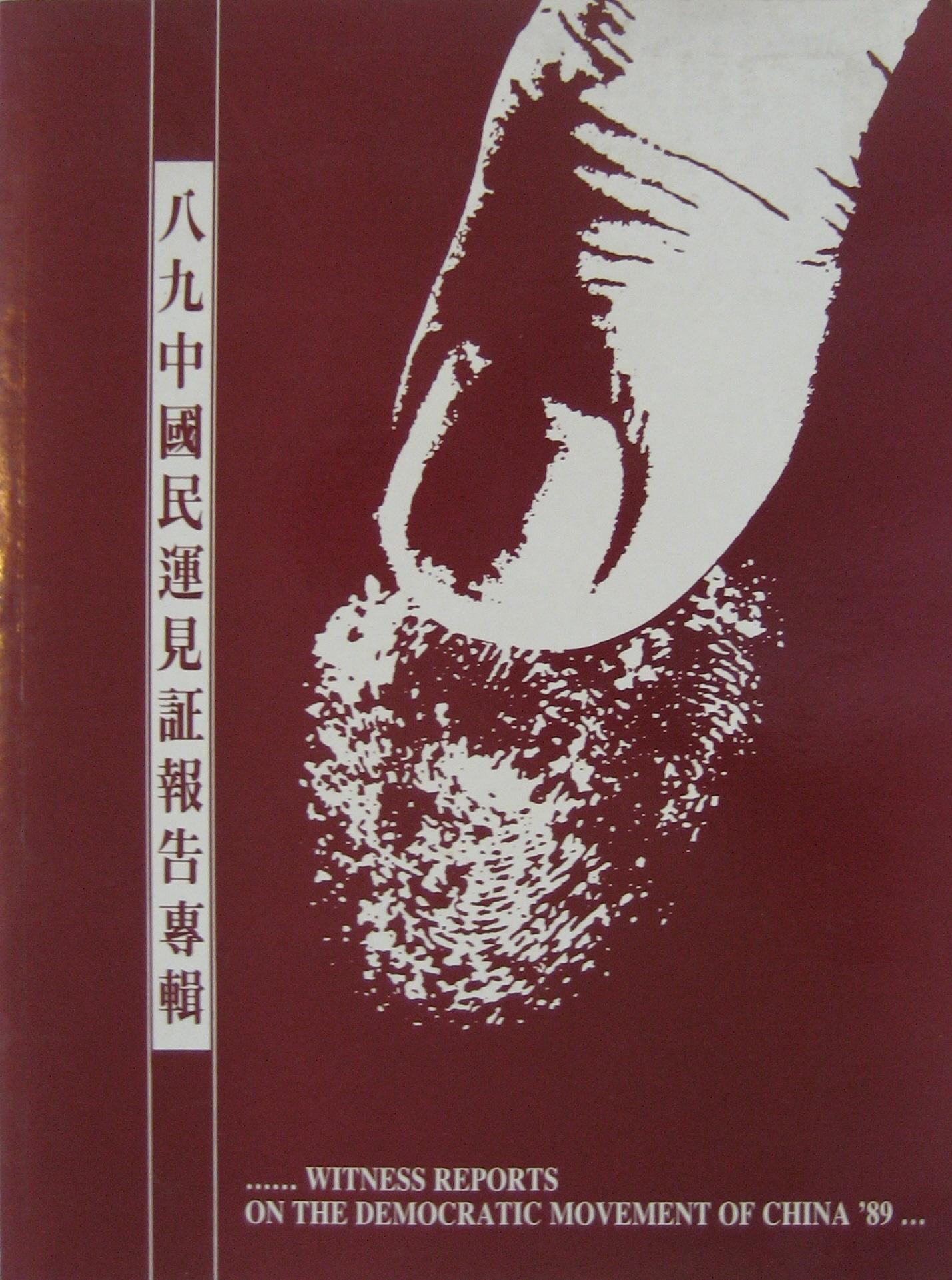 八九中國民運見證報告專輯