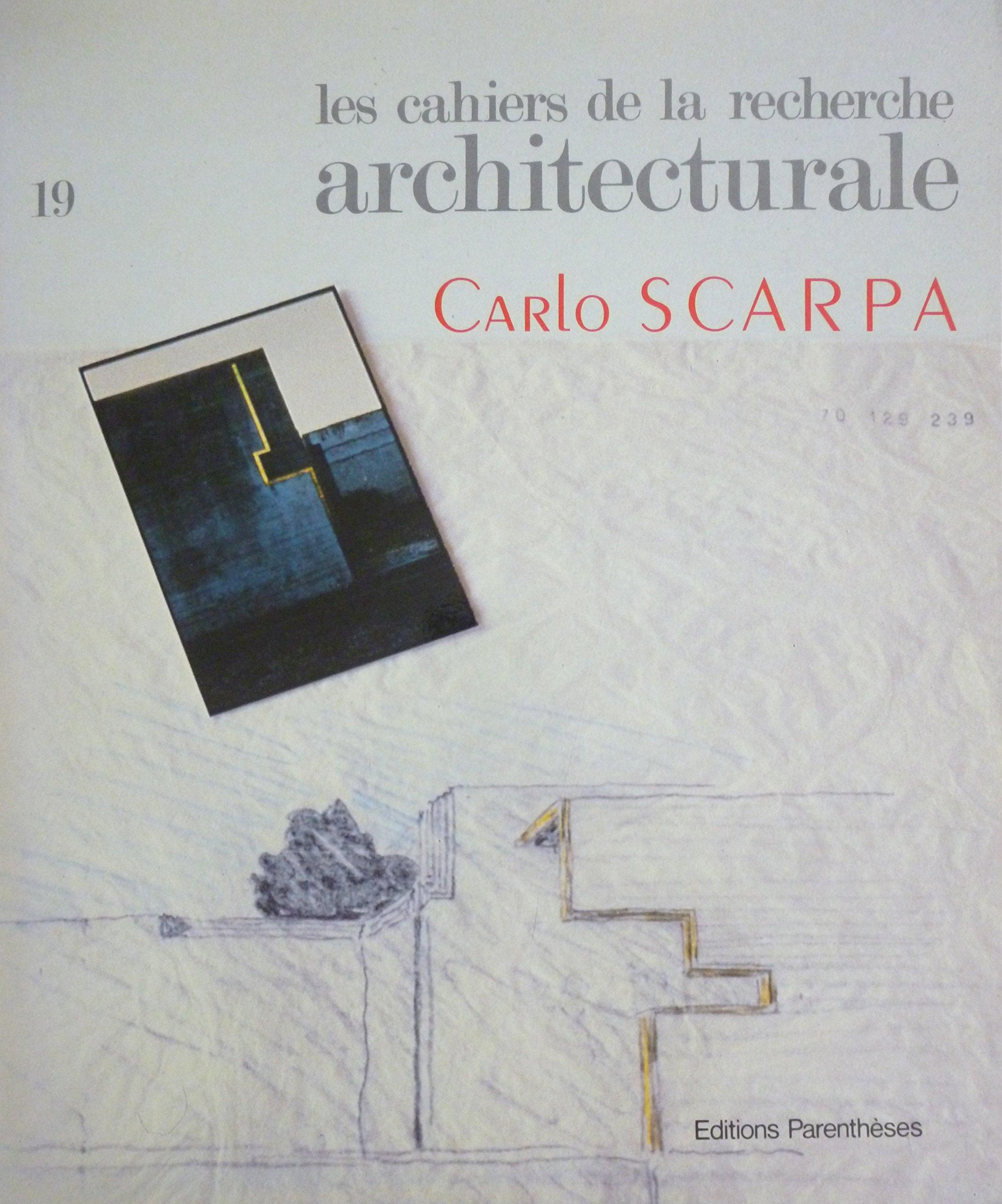 Les cahiers de la recherche architecturale, 19