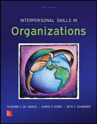 Interpersonal Skills in Organizations (Int'l Ed)