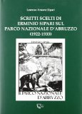 Scritti scelti di Erminio Sipari sul Parco Nazionale d'Abruzzo (1922-1933)
