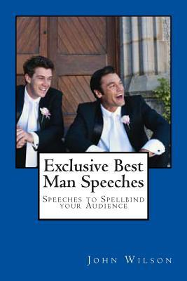 Exclusive Best Man Speeches
