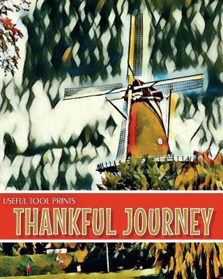 Useful Tool Prints Thankful Journey Daily Gratitude Journal