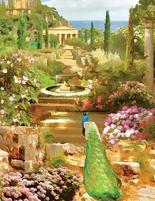 Peacock Fountain Garden Sketchbook