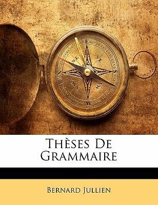 Thèses De Grammaire