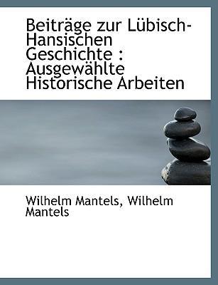 Beitr GE Zur L Bisch-Hansischen Geschichte
