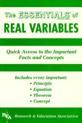 Real Variables Essentials