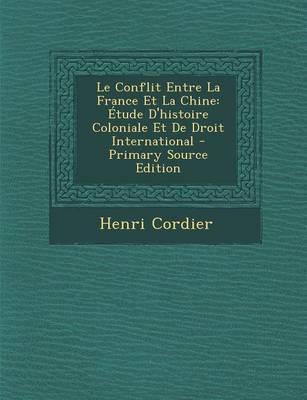 Le Conflit Entre La France Et La Chine